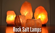 Rock Salt Lamps at The Princess Pursuit 2014