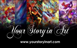 Tracey Roberts - Your Story in Art at The Princess Pursuit 2014