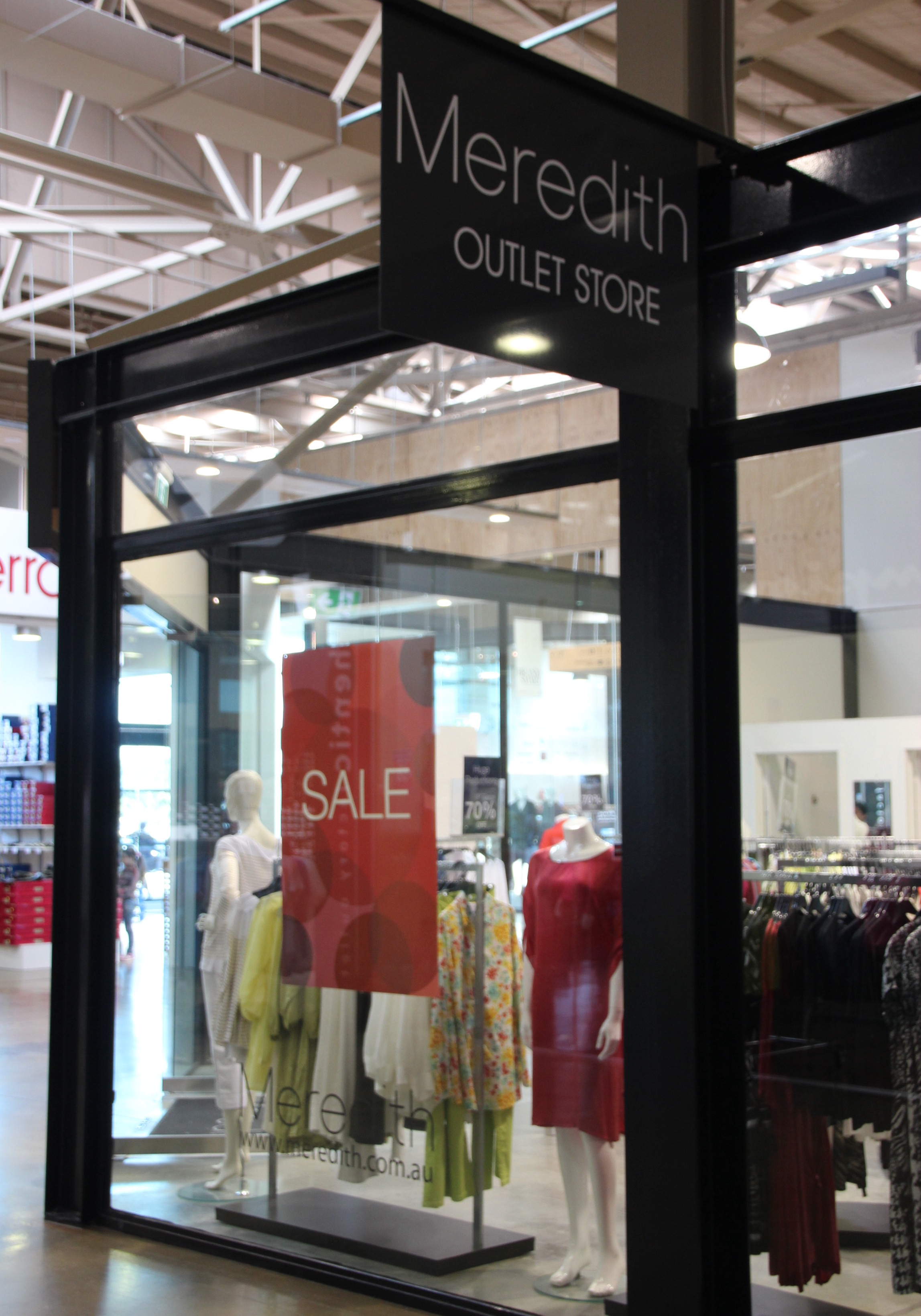 Meredith at First in Best Dressed Event