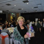 Julie Fidler wins her bundle of goodies at The Princess Pursuit